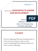 1. water resources planning