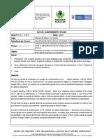 ACTA DE  ALEXIS PARODI
