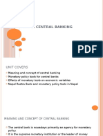 unit 2 central Banking