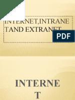 Internet,Intranet & Extranet