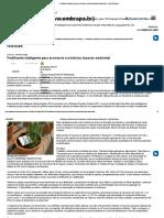 Fertilizante inteligente gera economia e minimiza impacto ambiental - Portal Embrapa