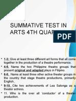 arts 4th q