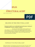 Necessity of Structural Audit Presentation- WSM