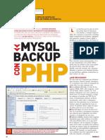 PU002 - SQL - MySQL backup con PHP