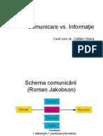 comunicare informatie
