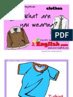 flash cards για ρούχα