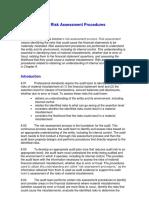 GTHW 2010 Chapter 8 Risk Assessment Procedures