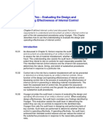 GTHW 2010 Chapter 10 Evaluating the Design and Operating Effectiveness of Internal Control