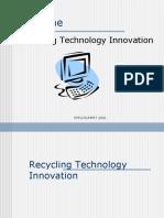 Recycling Technology Innovation