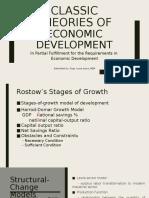 Classic Theories of Economic Development