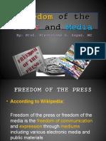 Freedom of the Press and Media - Prof. Prestoline S. Suyat