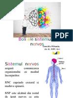 Dascălu Mihaela- Boli ale sistemului nervos