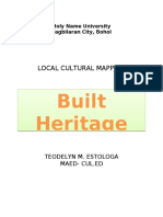 Built Heritage- CULTURAL MAPPING