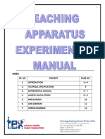 Leaching Apparatus Experimental Manual