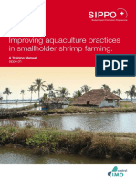 Improving aquaculture practices in smallholder shrimp farming