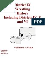 district ix wrestling history - edited 3-10-2020
