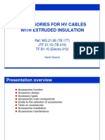 Accessories Types for HV Cables With Extruded Insulation