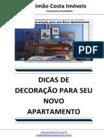 Dicas de Decoração Para Seu Novo Apartamento