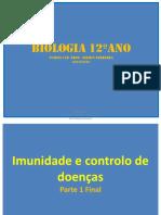 Biologia 12 Unidade 3 - Imunidade e controlo de doenças - Parte 1 Final.pdf