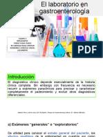 El laboratorio en gastroenterología