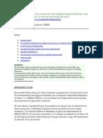 Estudio de un caso de innovación tecnológica desarrollada por una empresa venezolana