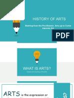 history o f arts