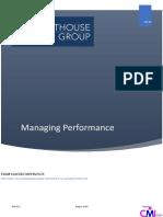 5. Managing Performance