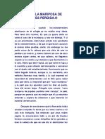 CASO DE LA MARIPOSA DE PAPELES PERDIDA