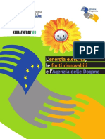 accise cogenerazione Klimaenergy 09 ita