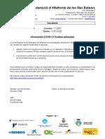 C17 2020 Aplazamiento Pruebas COVID 19