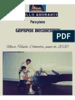 PASILLO AÑORANTE. Para piano. Gerardo Betancourt.