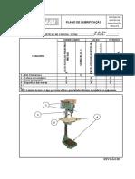 Plano de Lubrificação para Furadeira de Coluna  SENAI (Revisão 02)