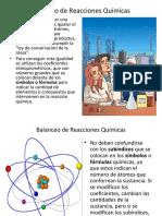 Balanceo de Reacciones ( Química )