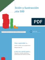 PPT- Adición y sustracción hasta 500