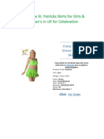 Wholesale St Partic Skirts for Girls & Women's in UK for Celebration.