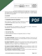 SST-P-010-Identificacion de Aspectos e Impactos Ambientales