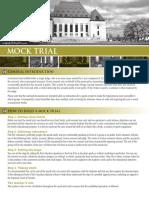 Supreme Court Mock Trial Kit