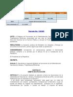 Decreto No 158 del 8. 4. 1981 ESTATUTO DEL FUNCIONARIO DE UTE