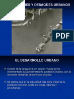 Inundaciones y Desagues Urbanos 2017