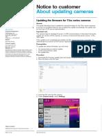 How to Update your FLIR T4xx series