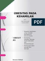 OBESITAS PADA KEHAMILAN