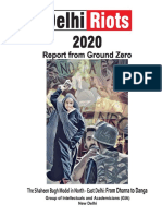 Delhi Riots 2020, Ground Report