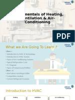 Fundamentals of Heating, Ventilation & Air-Conditioning