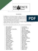 Liste Le Siecle