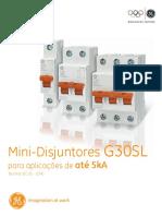 MCB G30SL - 5kA (Catálogo)