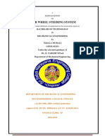 four wheel steering system document