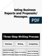 3.3 Completing Business Reports