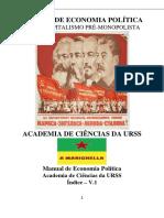 Academia de ciencias da URSS - Manual de Economia Política.pdf