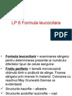 LP 6 Formula leucocitara