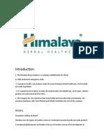 Himalaya Company.rtf